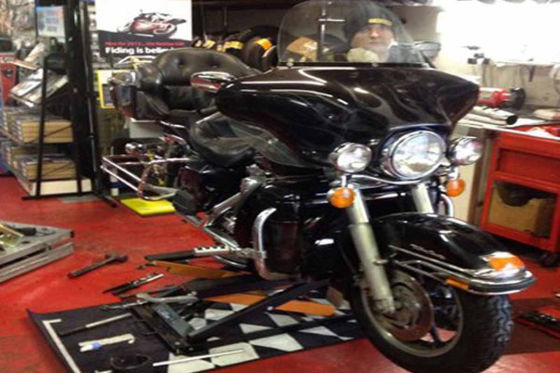 motor bike tyre fitment centre