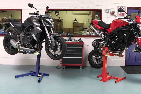 motor cycle repair