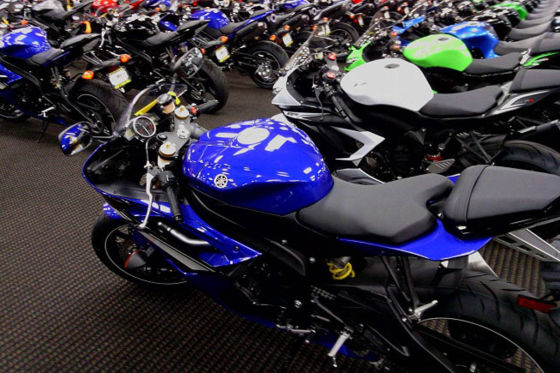 motor cycles sales